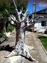 in clay how to make a paper mache tree homecomg