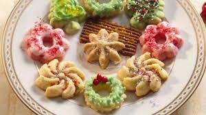 holiday spritz recipe bettycrocker com