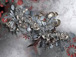 3d gold and silver ornaments wallpaper hd 3d and abstract