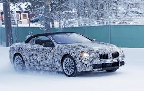 cars bmw 2020 2020 bmw 8 series convertible undergoes winter testing autoevolution