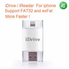 idrive iflash lightning usb otg drive for apple and android