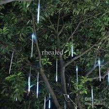 2018 led meteor shower light led raining light from rhealed