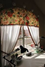 Half Moon Windows Decorating Making A Sunburst Curtains From A Bendable Curtain Rod Arched