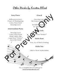 thanksgiving piano sheet music largo from winter piano solo by antonio vivaldi j w pepper