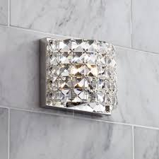 Crystal Wall Sconces by Vienna Full Spectrum Cesenna 5