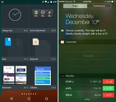 android bookmark widget android 5 0 lollipop vs ios 8 the different implementation of