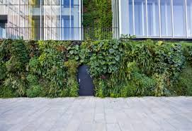 outdoor wall natura towers by vertical garden design stylepark