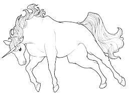 digital download fantasy coloring pages unicorn themed
