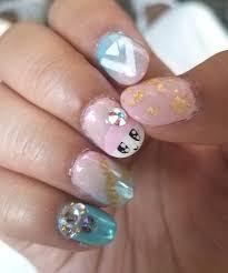 kpop nail