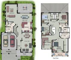 Two Storey Floor Plan Dysart Castle House Plan 6140 5 Bedrooms And 4 5 Baths The