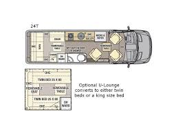 Type B Motorhome Floor Plans Galleria Motor Home Class B Diesel Rv Sales 3 Floorplans
