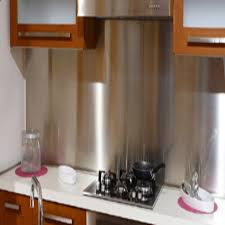 Custom Cut Stainless Steel BacksplashBest Home Design Best Home - Custom stainless steel backsplash