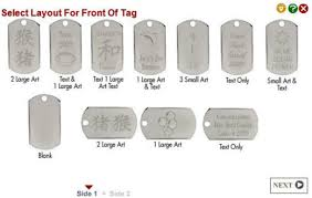 dog tag jewelry engraved dog tag necklaces for guys the necklace