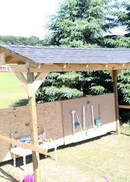 Diy Backyard Shade Diy Shaded Outdoor Play Area For Kids Our Piece Of Earthour