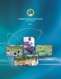 financial report cover page cdb annual reports caribbean development bank