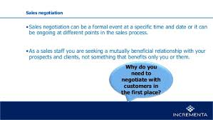 Seeking Negotiation Pricing Sales And Negotiation