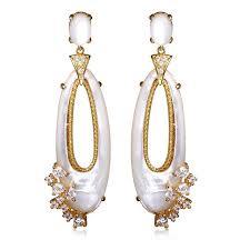 earrings brands shell earrings women jewelry high fashion designer brands
