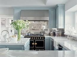 La Cornue Kitchen Designs La Cornue Kitchen Designs Blue Gray Kitchen Cabinets Contemporary