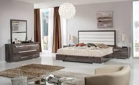 Italian Furniture Bedroom Sets by Nova Domus Capulet Italian Modern Grey Bedroom Set