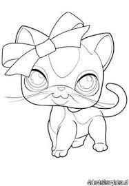 free littlest pet shop printable coloring pages enjoy coloring