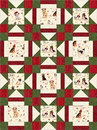 puppies for christmas quilt i love this so much holidaaaaays