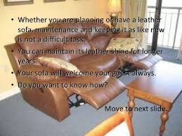 How To Clean A Leather Sofa by Keep Your Recliner Leather Sofa Clean To Welcome Your Guests
