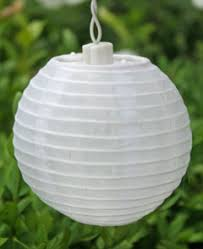 allsop set of 10 outdoor soji solar string lights white buy now