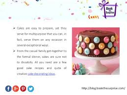 How To Make Cake Decorations How To Bake A Cake And Cake Decorating Ideas