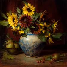 Robbins Flowers - elizabeth robbins pruitt still life artist and portrait painter