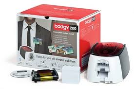 Plastic Identity Card Making Machine - evolis badgy200 plastic id card solution by office depot u0026 officemax