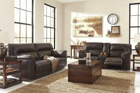 Recliner Living Room Set Signature Design By Barrettsville Durablend Chocolate