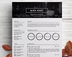 Art Director Resume Sample by Creative Resume Template Cover Letter Template For Word