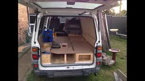 camper van layout mitsubishi express micro camper campervan conversion youtube