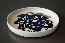 ceramic plate by mogens andersen for royal copenhagen 1979 for