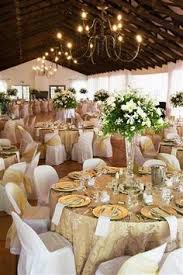 november wedding ideas white tablecloths chair covers with chagne organza chair