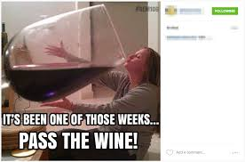 What Is Meme On Facebook - facebook wine mom memes are everywhere business insider