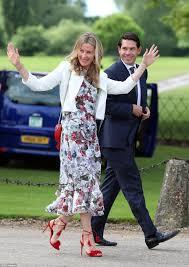 stylish guests arrive at pippa middleton u0027s wedding cetusnews
