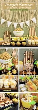 luau party luau party decor ideas pulled pork sliders