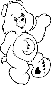 funshine bear butterfly care bear colouring happy