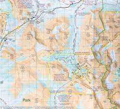 French Canada Map by Map Of Lake Louise Yoho National Park Canada Gem Trek
