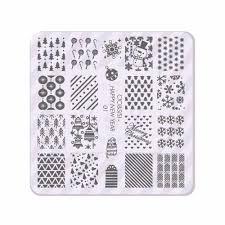 aliexpress com buy acrylic layering christmas nail stamping