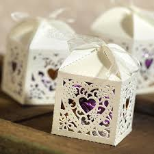 favor boxes for weddings decorative die cut wedding favor boxes pack of 25 favors