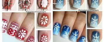winter nail art tutorials for beginners fabulous nail art designs