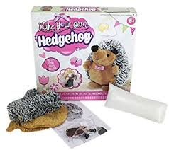 make your own plush grafix make your own hedgehog plush soft craft kit