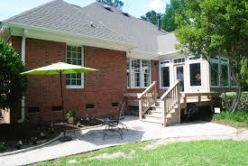 columbia sc deck and patio combinations custom decks porches