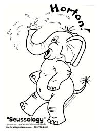 100 horton the elephant coloring pages stunning dr seuss