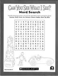 word search parents scholastic com