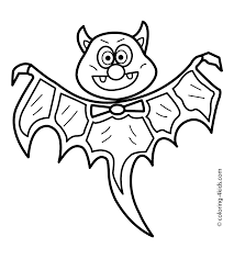 Halloween Printables Free Coloring Pages Halloween Bat Coloring Pages For Kids Bat Printable Free