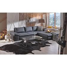 sofa weiãÿ gã nstig wohnlandschaft in anthrazit grau textil polstermöbel