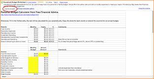 Monthly Home Budget Spreadsheet 6 Google Docs Budget Template Wedding Spreadsheet